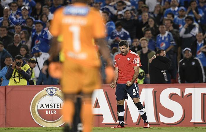 Independiente rescató un punto en su visita a Colombia ante Millonarios (Foto: Twitter)