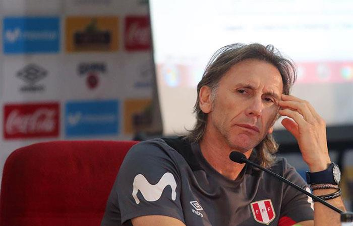 Ricardo Gareca. (FOTO: EFE)