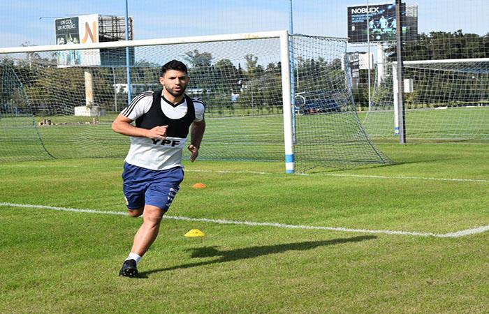 Sergio Agüero se recupera. Foto: Twitter