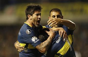 Boca Juniors se divirtió en la Bombonera y clasificó a los octavos de la Libertadores