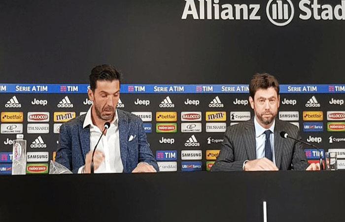 Gianluigi Buffon. Foto: Twitter