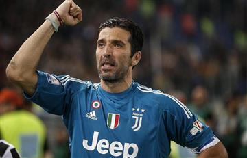 Gianluigi Buffon le pone fin a su carrera con la Juventus