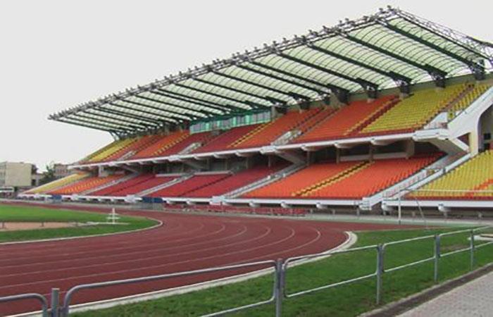 El Regional Sport Complex Brestsky, estadio del Dynamo Brest. Foto: Twitter