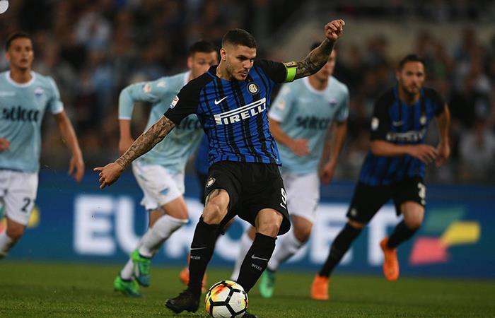De la mano de Icardi, Inter se clasificó a la próxima edición de la Champions League (Foto: Twitter)