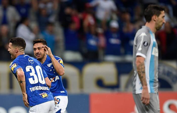 Racing perdió 1-2 ante un Cruzeiro que fue efectivo en tan solo ocho minutos (Foto: Facebook)