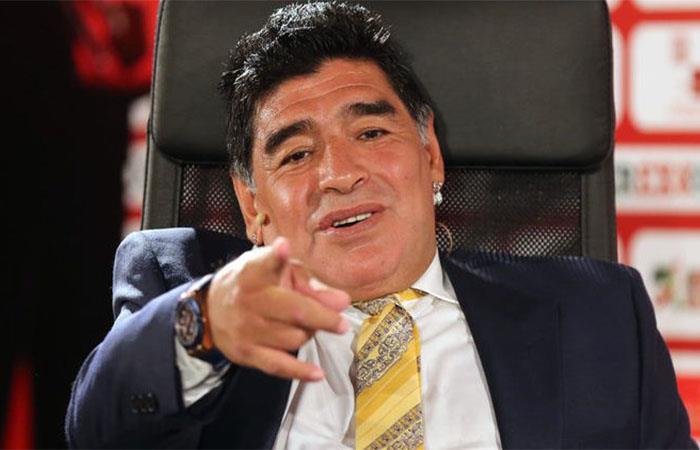 Selección Argentina: Diego Maradona le mandó un mensaje de respaldo a Alejandro Gómez