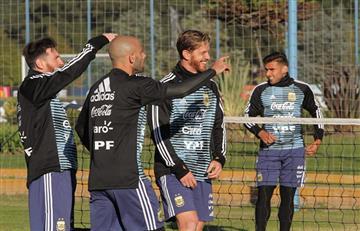 Selección Argentina: Biglia, Otamendi y Ansaldi se suman a los entrenamientos
