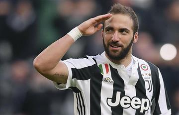 Gonzalo Higuaín es declarado transferible por la Juventus