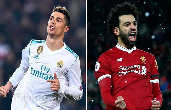 Cristiano Ronaldo y Mohamed Salah tendrán un duelo aparte. (FOTO: AFP)