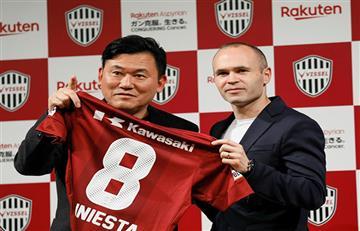 Andrés Iniesta continuará su carrera en Japón