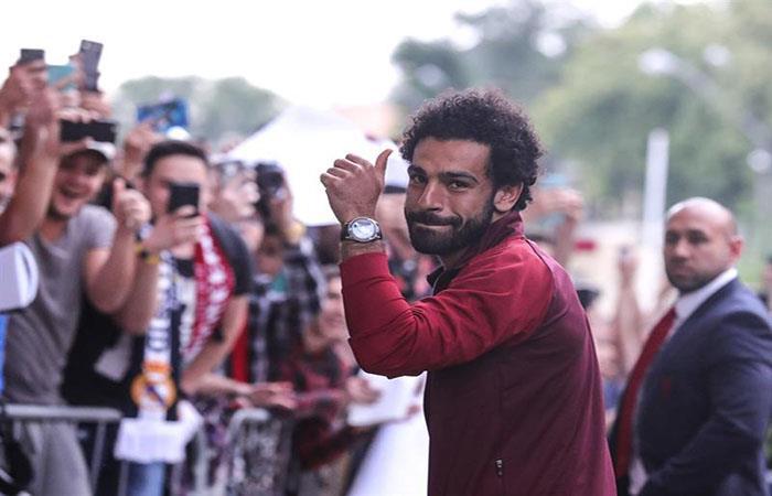 Mohamed Salah. Foto: EFE