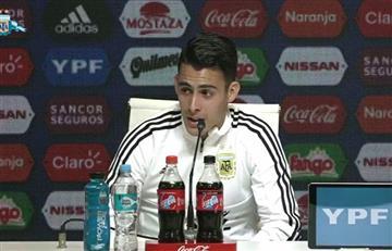 Selección Argentina: Cristian Pavón se rinde ante Franco Armani
