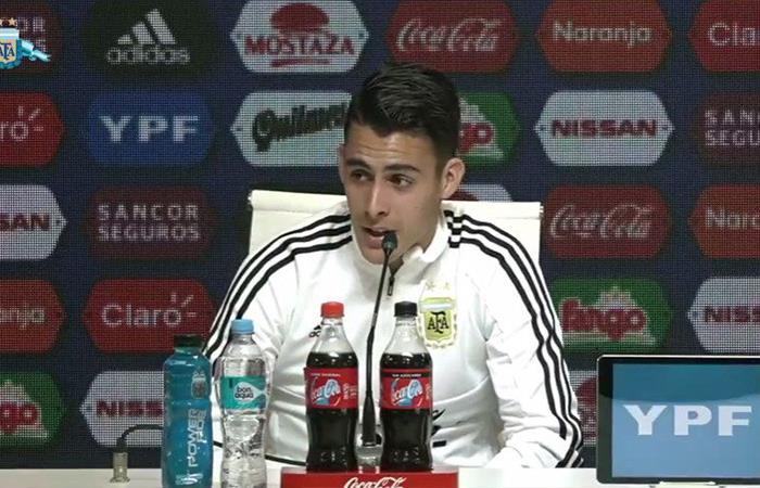 Cristian Pavón. Foto: Twitter
