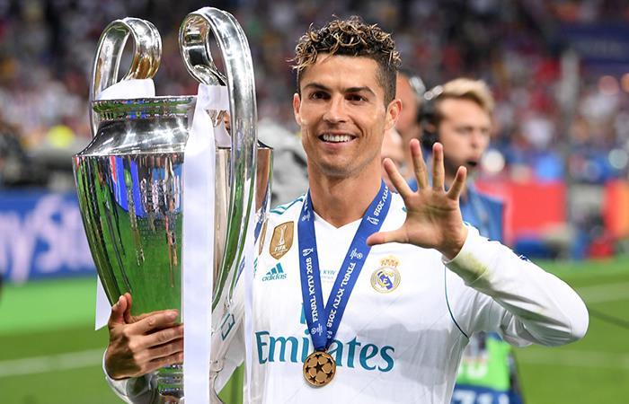 Cristiano Ronaldo abre una chance de una posible salida del Real Madrid (Foto: Twitter)