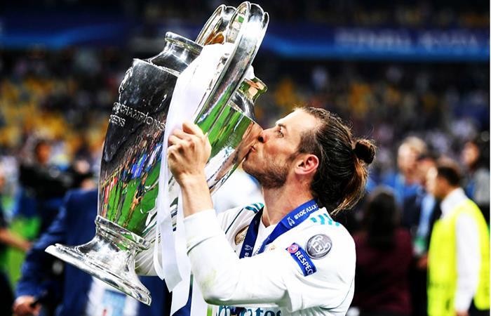 Gareth Bale logra sumar su cuarta Champions con el Real Madrid (Foto: Twitter)