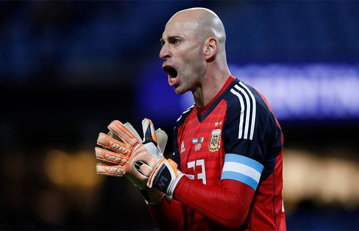 Willy Caballero (Foto: Twitter)