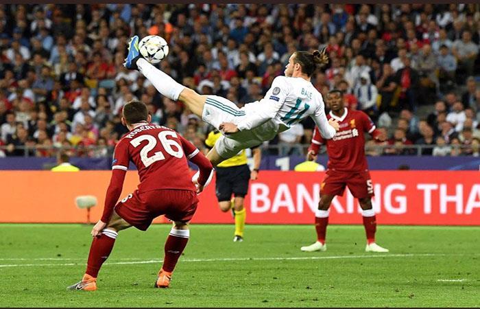Champions League: la chilena de Gareth Bale