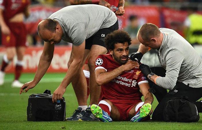 Mohamed Salah. (FOTO: AFP)