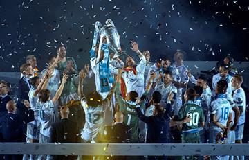 Real Madrid se copó de celebración en el Santiago Bernabéu