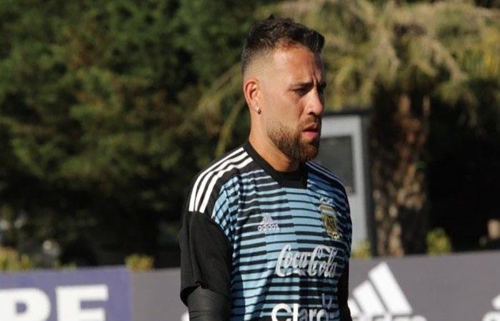 Nicolás Otamendi entra en riesgo de lesionarse y perderse el Mundial. Foto: Twitter