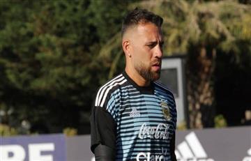 Selección Argentina: Nicolás Otamendi entrena diferenciado por posible lesión