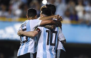 La Selección Argentina se despidió de su gente pisando fuerte ante una débil Haití