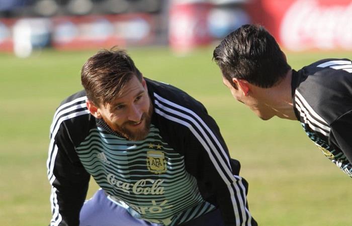 Lionel Messi, no descartó su llegada a 'La Lepra'. Foto: Twitter