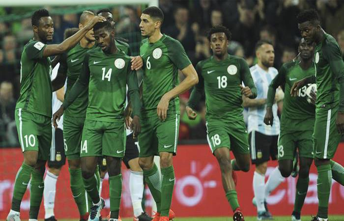 Selección de Nigeria. Foto: Twitter