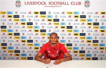 Liverpool: Fabinho nuevo fichaje de los Reds
