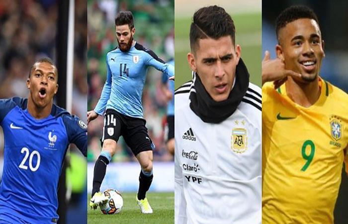 Los futbolistas con mayor futuro del Mundial. Foto: Twitter