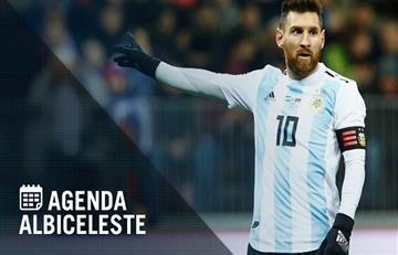 Selección Argentina: la agenda de la gira de la 'Albiceleste' por Europa