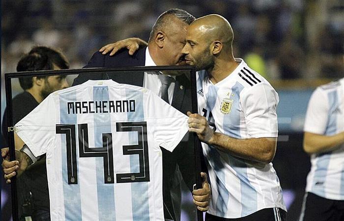 Javier Mascherano cumplió 143 partidos con la Selección Argentina (Foto: Twitter)