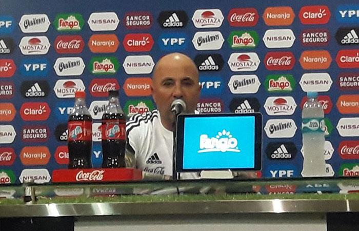 Jorge Sampaoli. Foto: Twitter