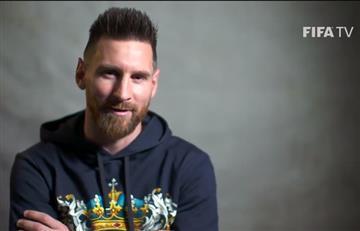 Lionel Messi y su ping pong ante el canal oficial de la FIFA
