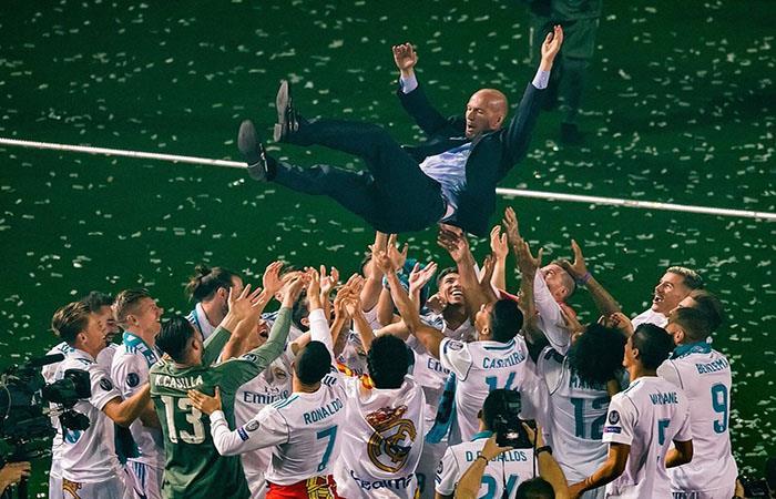 Zinedine Zidane. (FOTO: Twitter)