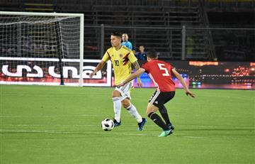 Rusia 2018: Colombia igualo ante Egipto que jugo sin Mohamed Salah