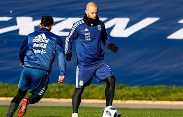 Selección Argentina: ¿Mascherano le gana la pulseada a Biglia?