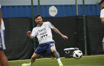 Selección Argentina: Jorge Sampaoli da libre el resto del día a los jugadores