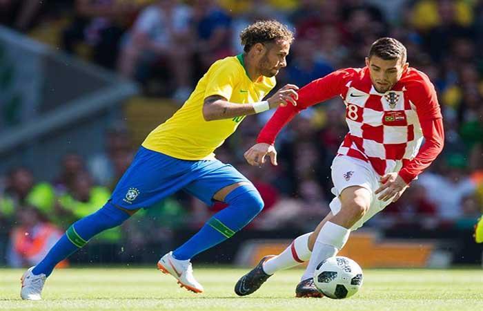 Neymar anotó para Brasil. Foto: EFE