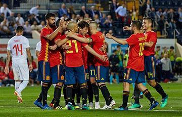 España dominó pero no paso del empate ante Suiza