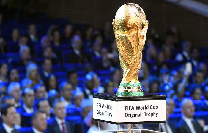 El sueño de todos: la copa que todo quieren levantar en Moscú. Foto: AFP