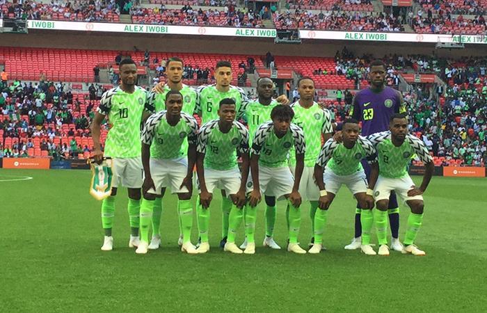 Nigeria presentó su lista de 23 de cara al Mundial (Foto: Twitter)