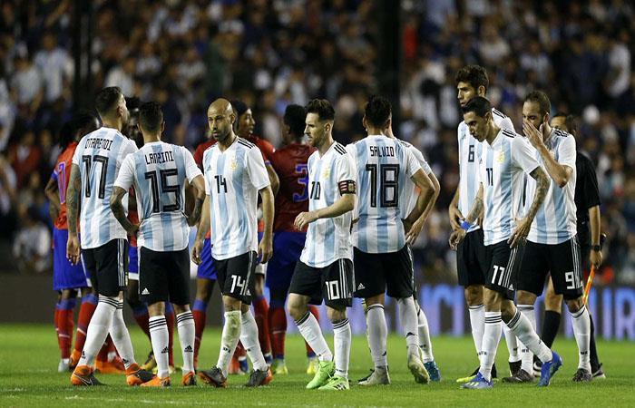 La Argentina buscará otro rival para jugar en Barcelona. (FOTO: Twitter)