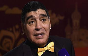 Diego Maradona es internado en hospital de Colombia