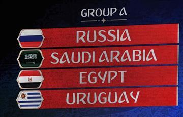 Rusia 2018: análisis del Grupo A de la Copa del Mundo