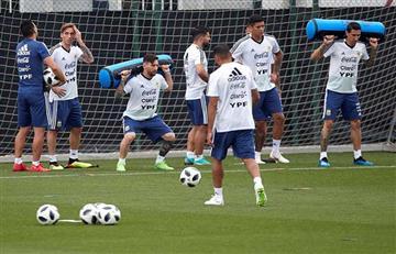 Selección Argentina: el 11 que paró Jorge Sampaoli de cara al partido ante Israel