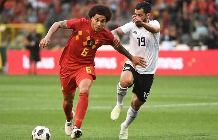 Bélgica derrotó 3-0 a Egipto (Foto: Twitter9