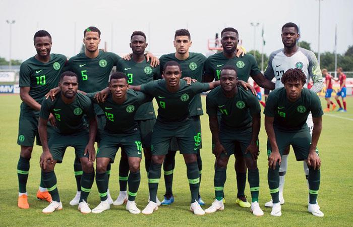 Selección de fútbol de Nigeria. Foto: EFE