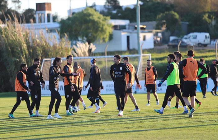 Selección Uruguaya. Foto: Twitter