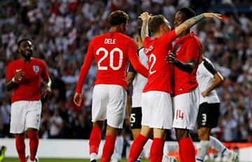 Rusia 2018: Inglaterra impone su fútbol y derrotó a Costa Rica previo al mundial